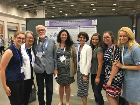 Three generations of Bioinorganic Chemists! The Haas group poses with Dr. Haas' Ph.D. Advisors Dr. Alvin Crumbliss, his wife Karen Crumbliss, and Dr. Katerine Franz of Duke University.
